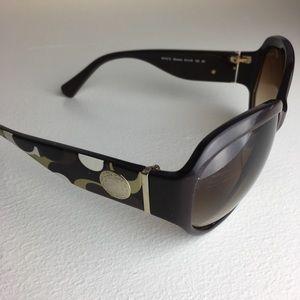 COACH Sunglasses Arabella Wmns Oversized EUC